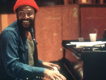 O titã do 'soul' Marvin Gaye, em uma imagem de arquivo.