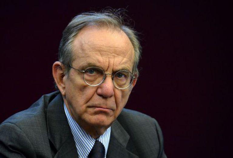Pier Carlo Padoan, ministro de Economia da Itália.