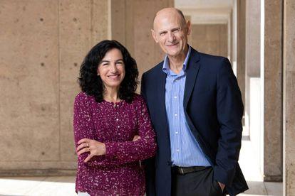 Os pesquisadores Concepción Rodríguez e Juan Carlos Izpisúa, do Instituto Salk.