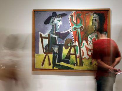 'O pintor e a modelo', de 1963, no CCBB.