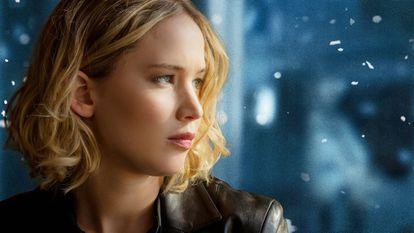 Jennifer Lawrence em uma cena de 'Joy'.
