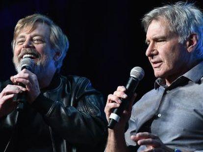 Saga comemora seu aniversário reunindo George Lucas, Mark Hamill, Harrison Ford e John Williams