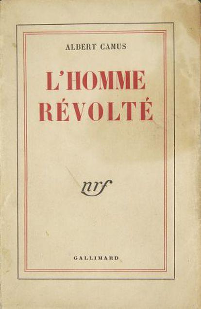 Livro de Camus da coleção de Villepin.