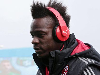 Mario Balotelli, atacante do Milan.
