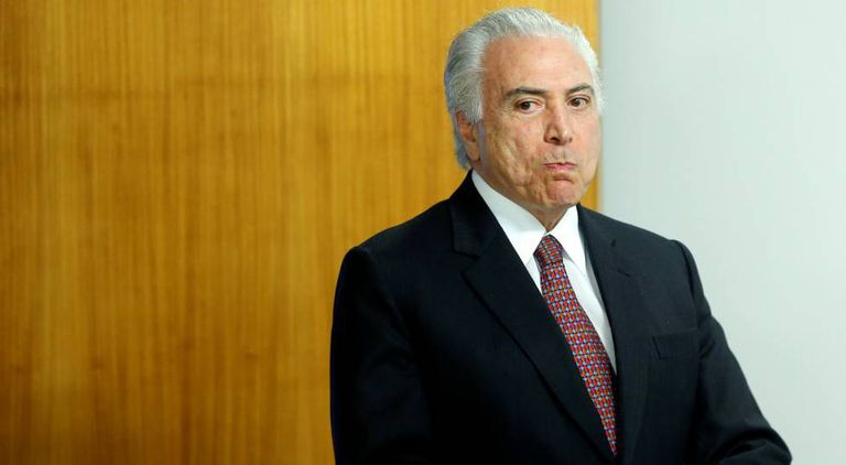 Michel Temer no Palácio do Planalto.