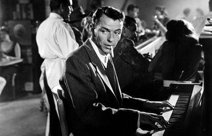 Sinatra no filme 'Corações Enamorados', de 1955.