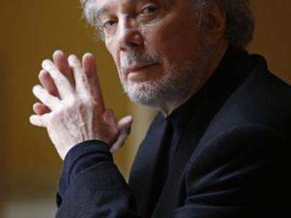 O ator argentino Alfredo Alcón em uma imagem de 2008.