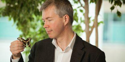 O biólogo Jeremy Kerr.