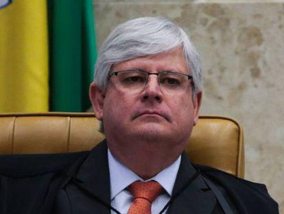 Rodrigo Janot em sessão plenária do STF em junho de 2017