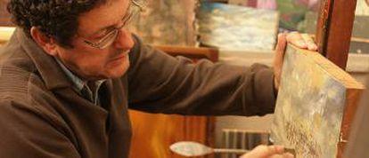 O artista plástico Rubens Matuck