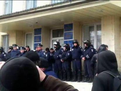 """A """"República Popular de Donetsk"""" desafia o ultimato de Kiev"""