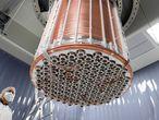 El detector inferior del experimento XENON1T