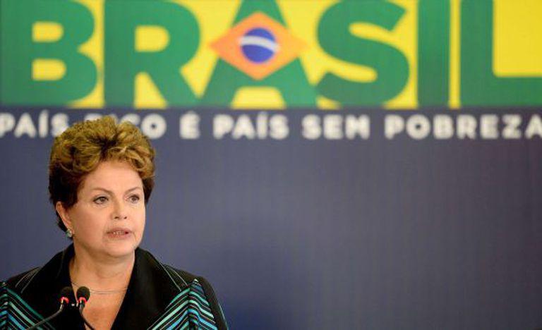 A presidenta brasileira, Dilma Rousseff.