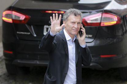 O futuro presidente argentino Maurício Macri.