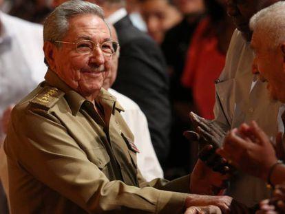 Raúl Castro durante um evento em dezembro, em Havana
