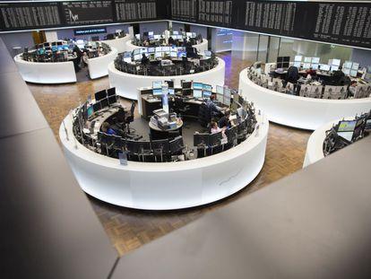 Vista geral da Bolsa de Frankfurt (Alemanha).