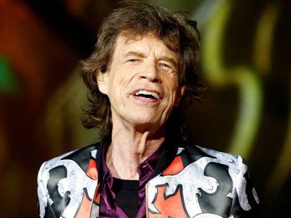 Mick Jagger, em um shos dos Rolling Stones no ano passado.