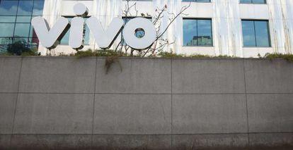 Imagem da fachada da sede de Vivo em Sao Paulo (Brasil)