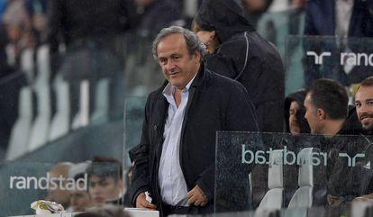 O ex-presidente da UEFA Michel Platini, em uma foto do mês passado.