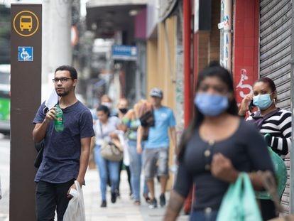 Comércio de rua da capital paulista foi retomado no dia 10 de junho.
