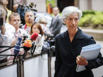 Christine Lagarde, no último domingo.