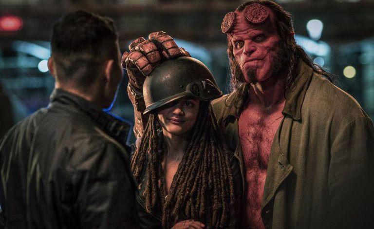 Cena de 'Hellboy'