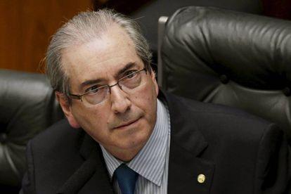 Eduardo Cunha, em sessão na Câmara no dia 16 de abril.