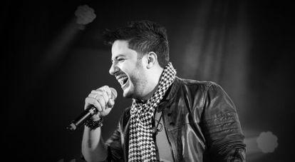 O cantor Cristiano Araújo.