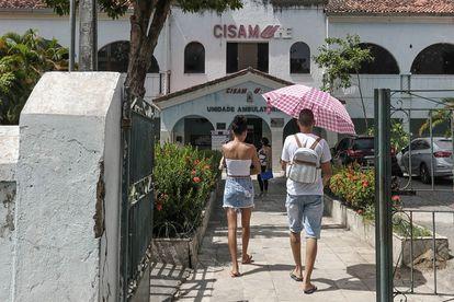 Fachada do hospital, em Recife, onde criança estuprada realizou aborto.