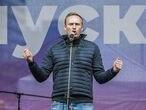 Alexei Navalni en una manifestación CELESTINO ARCE LAVIN / ZUMA PRES   (Foto de ARCHIVO) 29/09/2019