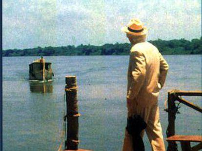 Cartel de 'El coronel não tem quem lhe escreva', de Arturo Ripstein.