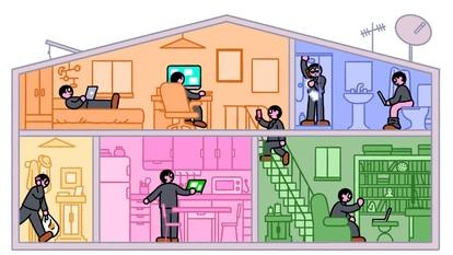 O sonho do 'home office' vira pesadelo na pandemia