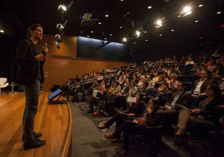 Alexandre Lafer, sócio fundador de Vitecon, no evento.