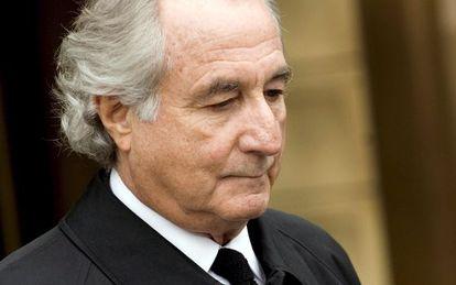Bernard Madoff antes de ser condenado.