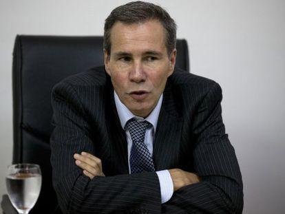 O promotor argentino Alberto Nisman.