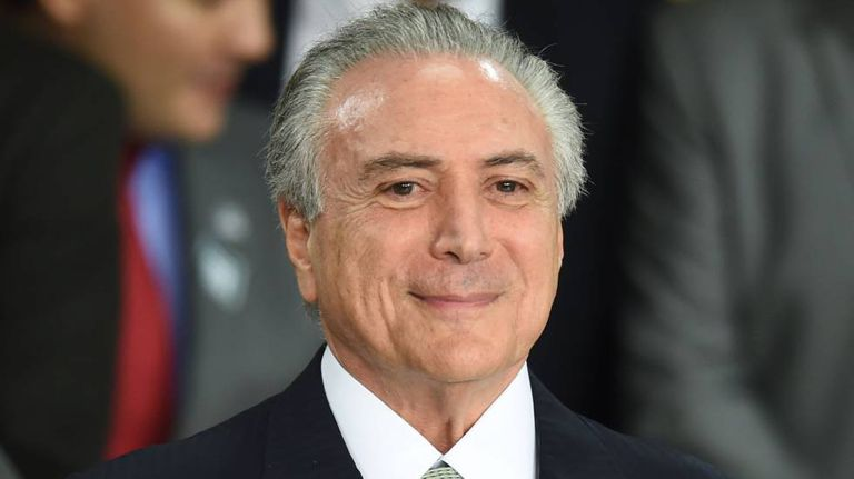 Michel Temer, presidente interino.