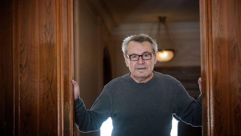 Milos Forman, em Paris em 2009