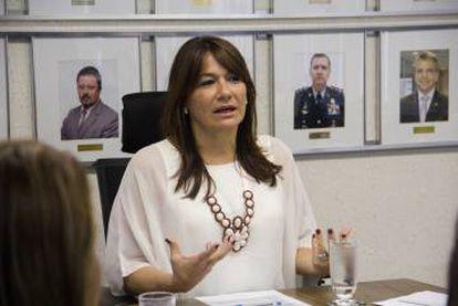 Márcia de Alencar é a primeira mulher a ocupar o cargo de secretária de Segurança do DF.