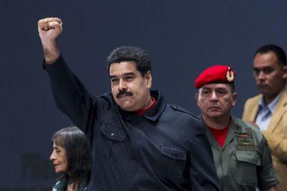 O presidente venezuelano Nicolás Maduro.