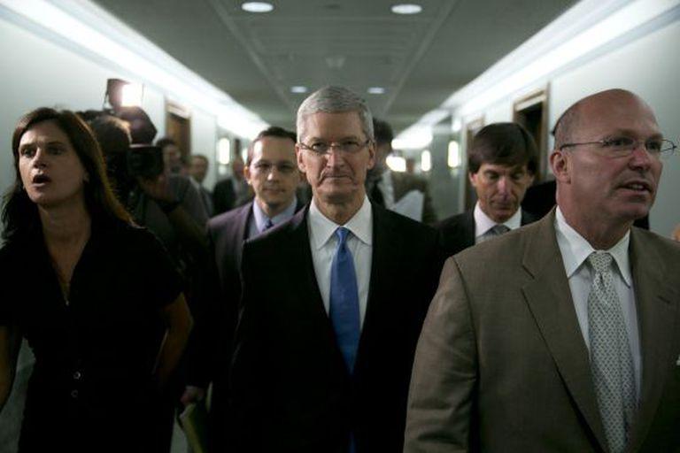 Tim Cook, conselheiro delegado da Apple.