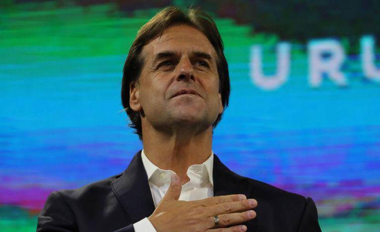 O novo presidente do Uruguai, Luis Lacalle Pou.