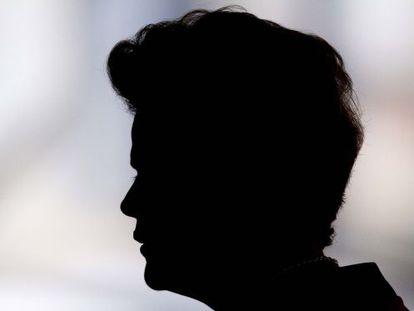 Dilma Rousseff, em evento em julho.