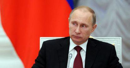 Putin, na sexta-feira no Kremlin.