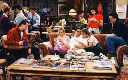 Episódio do seriado americano 'Friends'.