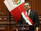 Manuel Merino toma posesión como presidente.