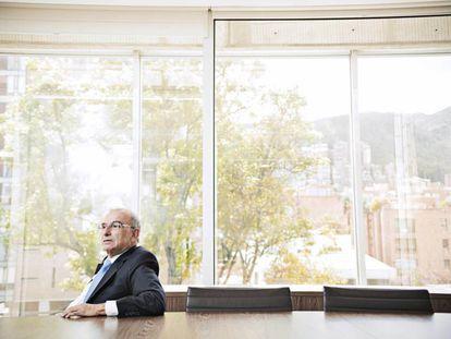 Humberto de la Calle, nesta semana em Bogotá.