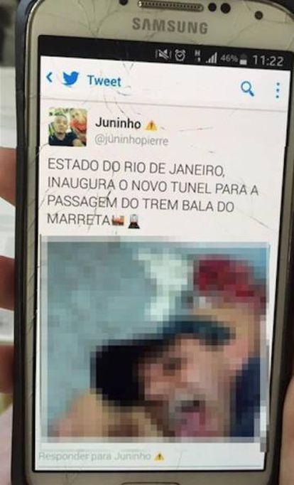 Criminosos divulgaram vídeo do estupro em rede social.
