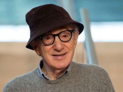 Woody Allen em julho de 2019 em San Sebastián (Espanha).