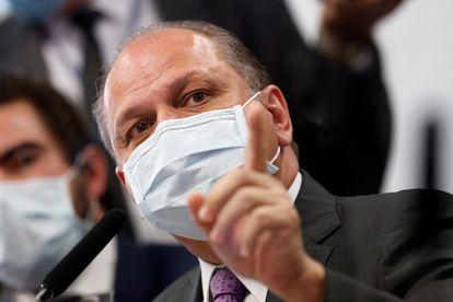 O deputado federal Ricardo Barros (PP-PR) fala na CPI da Pandemia nesta quinta-feira, 12 de agosto, como convidado.
