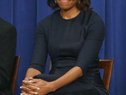 A primeira dama dos EUA, Michelle Obama.